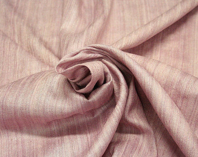 453131-natural Silk Rustic 100%, wide 135/140 cm, made in India, dry-washed, weight 240 gr