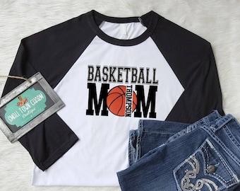 Mom Basketball Shirt, Basketball Shirt,Team Spirit Shirt, Game Day Shirt, Game Day Glitter,Small Town Charm Boutique,Game Day Shirt