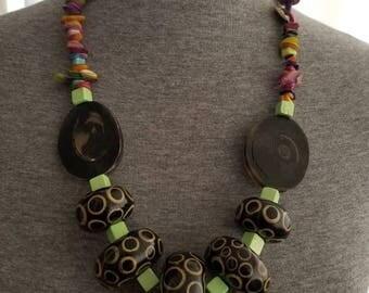 Ready to ship, Jade, Afrocentric, necklace for women, African jewelry
