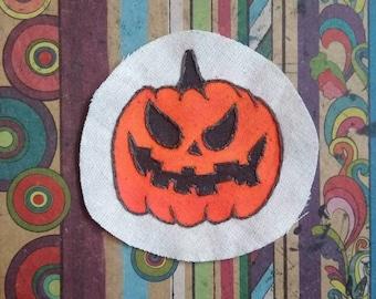 pumpkin hand made patches