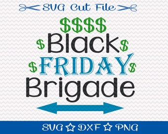 Black Friday SVG Cut File / SVG Download / Silhouette Cameo / Digital Download / Shopping svg / Fall svg