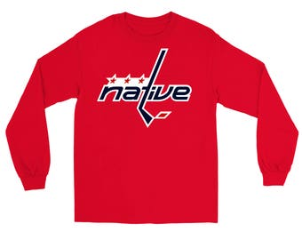 Native Hockey Crewneck