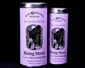 Rising Moon Loose Leaf Herbal Tea for Sleep and Relaxation