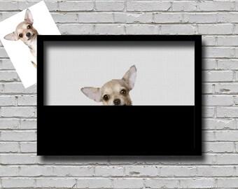 Custom Order Cross Stitch Pattern Peeking Your Pet Dog Creative Decor Personalised Printable Digital Pattern For Crafter Custom Dog Pattern