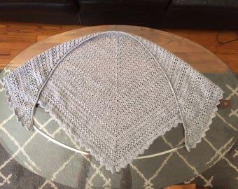 Triangle Crochet Shawl Wrap