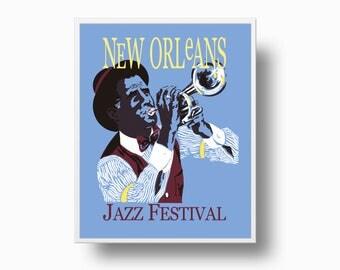 vintage jazz posters