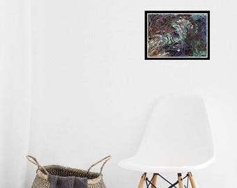 ON SALE: LIMITED Time Acrylic painting, Abstract art, Original Abstract painting, Multi color, Expressionist abstract, Contemporary Art, Wal