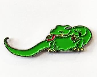 THE DEAD MILKMEN Big Lizard enamel pin