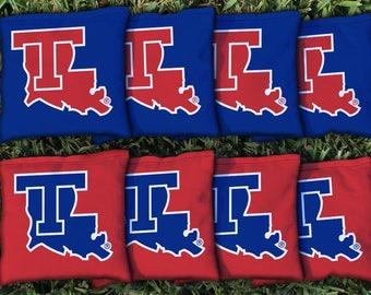 Louisiana Tech Bulldogs Cornhole Bag Set