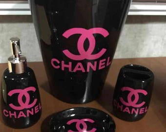 Chanel bathroom accessories