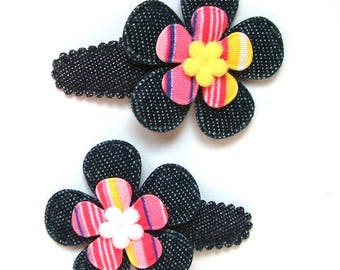 "Hair clip for baby & girl ""AGATHA"" - french Baby Hair Clip"