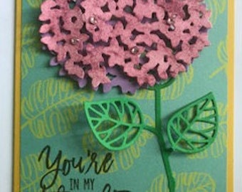 Caring Flower Greeting Card