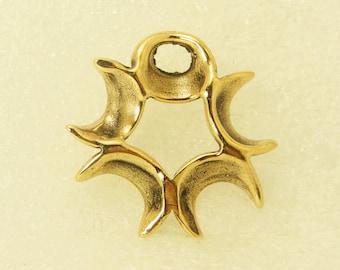 Amulet Pendant Five Moons