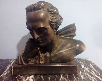 Plaster bust of Marshall