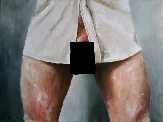 mature nude art huile sur toile belle et originale art. Black Bedroom Furniture Sets. Home Design Ideas