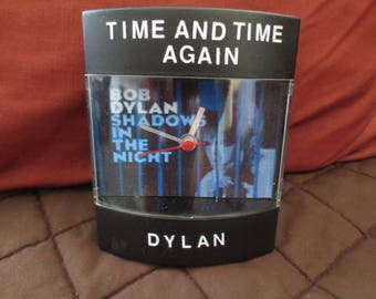 "Bob Dylan Dyl-Time Clock for ""Shadows in the Night""  album"