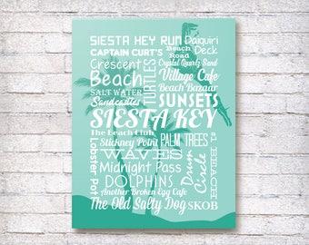 Siesta Key Florida Canvas 2nd Edition