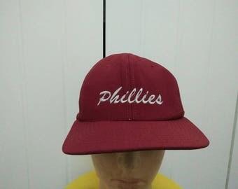 Rare Vintage PHILLIES Cap Hat Free size fit all