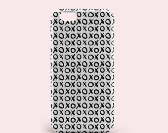 XoXo Pattern iPhone 8 Plus Case iPhone 6 Cover iPhone 6s Cover iPhone 8 cover iPhone 7 cover iPhone 7 Plus cover iPhone se cover Samsung