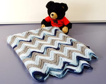 Made to order baby blankie with matching booties and beanies