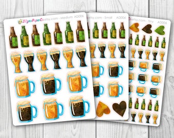 Beer Stickers AD006