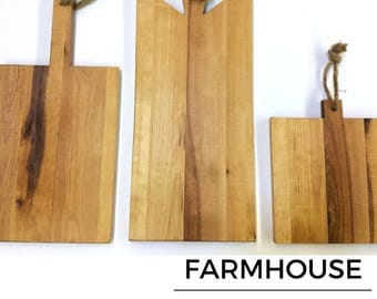 Recalimed Rustic Farmhouse Style Bread Boards