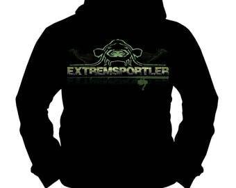 Extreme Athlete Waller | Wels · Catfish | Fishing Fishing | Hoodie | S-XXL