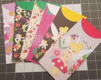 Tinkerbell Cash Envelopes