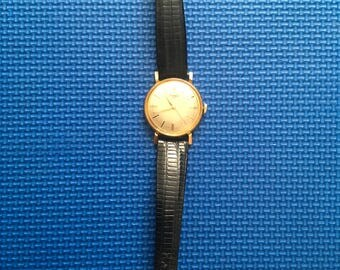 Timex 100 Gold Wrist Watch