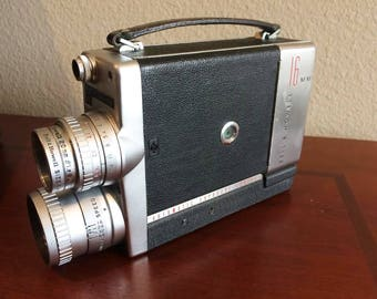 Bell & Howell 200EE Electric Eye Movie Camera and Lenses