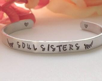 Soul Sisters Cuff Bracelet.