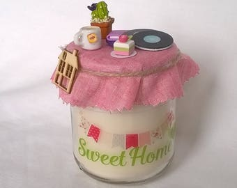 """""""Sweet Home"""" candle"""