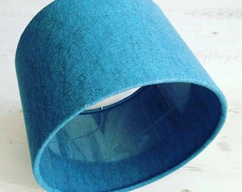 Blue Clear Lampshade