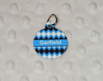 Garfield medal pet identification Medal, dog, cat, nameplate, personalized Locket