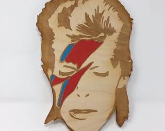 David Bowie Aladdin Sane Wall Art