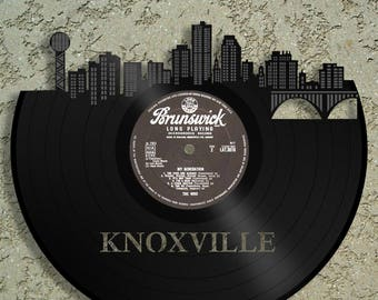 College Gifts For Him, For Her, For Women, Knoxville Art, Tennessee State Decor Ideas, Knoxville Skyline, University of Tennessee Wall Art
