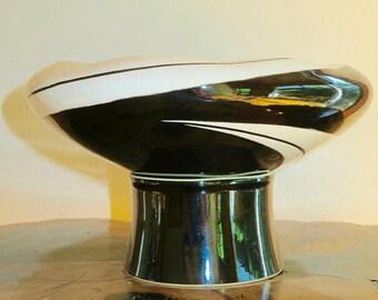 Large Ikebana Mid Century Modern Bowl
