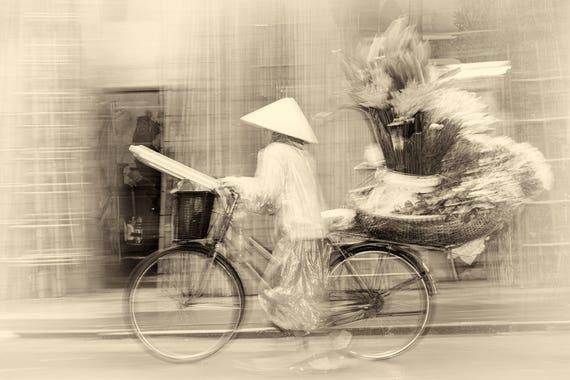 VIETNAM STORIES 16. Vietnam Prints, Street Photography, Limited Edition Print, Photographic Print, Sepia Tone Print