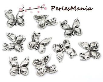 PAX 40 charm magnificent Butterfly silver Antique S112190 pendant