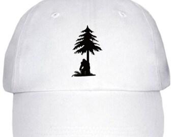Tree Peeker Bigfoot Hat