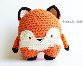 Mr. Fox, big Fox to adopt (handmade - crochet)-version of Foxy XXL