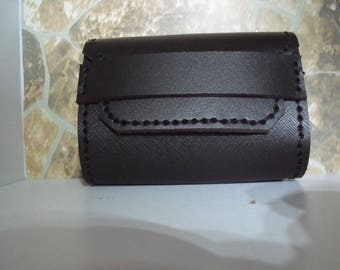 Bandolier belt leather bag