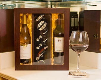Papered Grape Deluxe Double Bottle Wine Box Set