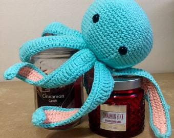 Jumbo Crochet Amigurumi Squishie Octopus Stuffie