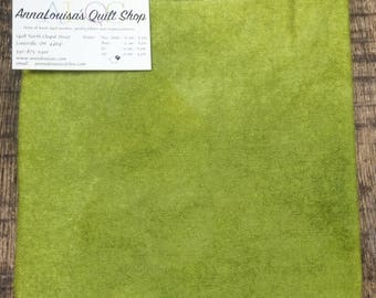 Hand-dyed Wool Fat Quarter -- Celery -- FQ889