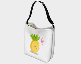 "Bag for teacher ""Miss pineapple"""