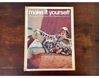 1970s make it yourself A4 book