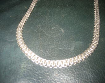 Simple Silver Color Necklace