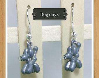 BALOON DOG EARRINGS