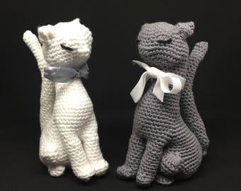 Kitti cats crochet stuffed toy